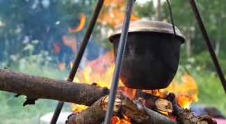 Блюда на костре: как приготовить рассыпчатую гречку