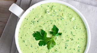 Как сделать зеленый соус
