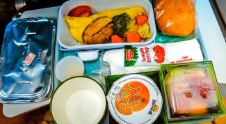 Как получить вегетарианское питание в самолете