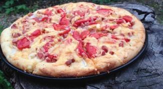 Как приготовить пиццу Го-го