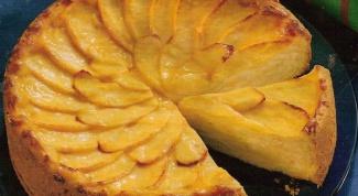 Как приготовить яблочный пирог на кефире