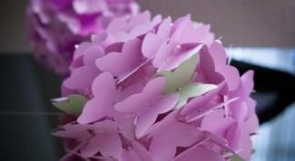 Как сделать летний топиарий из бабочек