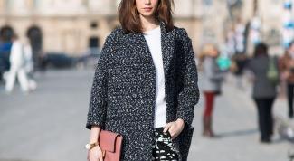 Летнее пальто оверсайз: с чем носить