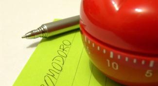 Техника «помидор», или Как работать максимально эффективно