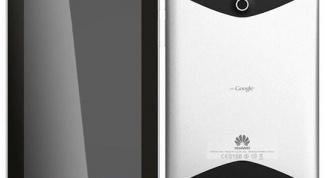 Как разобрать планшет Huawei MediaPad 7