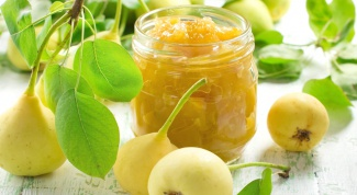 How to make jam from pears