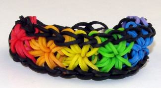 Why threat the rubber bands to weave bracelets?
