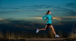 Как начать бегать по вечерам