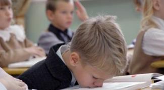 Как настроить ребенка на школу