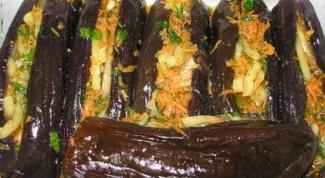 Аппетитные фаршированные баклажаны