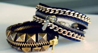 Как сделать оригинальные браслеты из молний