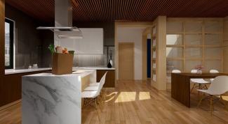 Как выбрать напольное покрытие для кухни