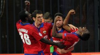 В какой группе сыграет ЦСКА в Лиге Чемпионов 2015-2016