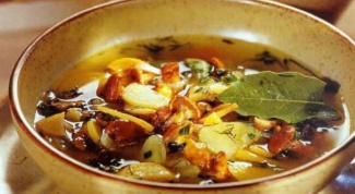 How to cook delicious chanterelle soup