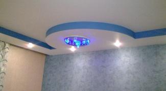 На что обращать внимание при разработке дизайна потолка из гипсокартона