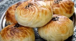 Samsa puff pastry