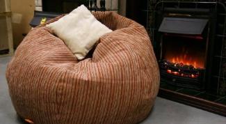 Бескаркасное кресло – новинка мебельного дизайна