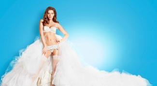 Как подобрать белье к свадебному платью