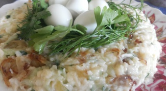 """Как быстро и вкусно приготовить салат """"Гнездо перепелки"""""""