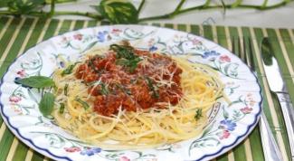 Как приготовить спагетти Болоньезе в домашних условиях