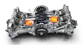 Оппозитный двигатель внутреннего сгорания: преимущества и недостатки