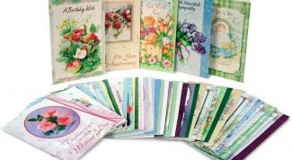 Декоративные открытки своими руками