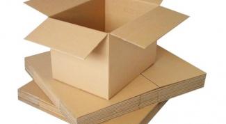 Как использовать картонные коробки
