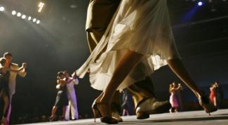 Поведение мужчины и женщины в аргентинском танго