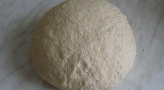 Как приготовить дрожжевое тесто на опаре