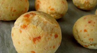 Как приготовить по-джи-кейжу, бразильские сырные булочки