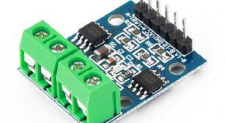 Как подключить коллекторный двигатель к Arduino