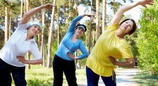 Подвижность в пожилом возрасте