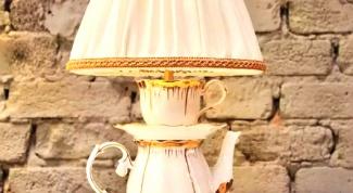 Как сделать настольную лампу «Фантазия»