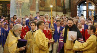 Как заказать молебен в православном храме