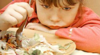 Как поступить, если ребенок отказывается от еды