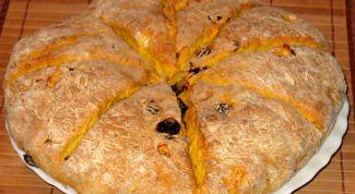 Сладкий хлеб из тыквы