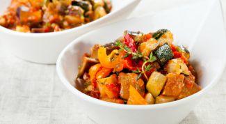 Классический рецепт овощного рагу