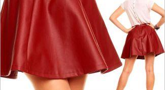 Главные особенности юбки-солнце