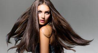 Придание блестящих свойств волосам дома