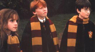 Как связать шарф как у Гарри Поттера