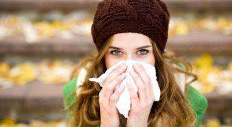 Как уберечься от осенней простуды