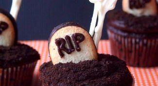 Шоколадный кекс: рецепт на Хэллоуин