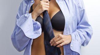 Мужская рубашка в гардеробе женщины