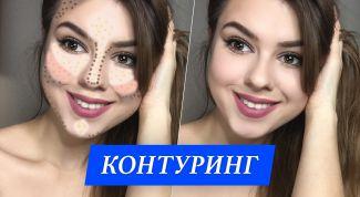 Популярная техника макияжа — контуринг