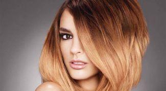 Как сделать омбре на волосах