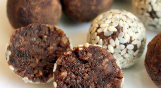Как сделать конфеты из сухофруктов без сахара