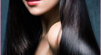 Блеск волос за 5 минут