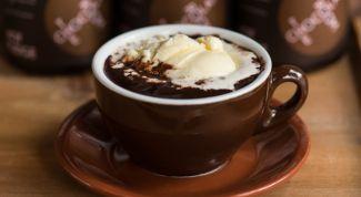 Как сделать настоящий горячий шоколад