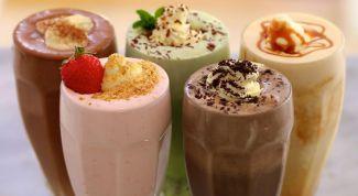 Чем заменить мороженое в классическом молочном коктейле