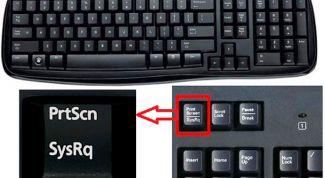 Как делать скрин на ноутбуке